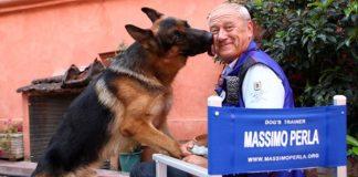 Cani attori: intervista a Massimo Perla, istruttore di Rex